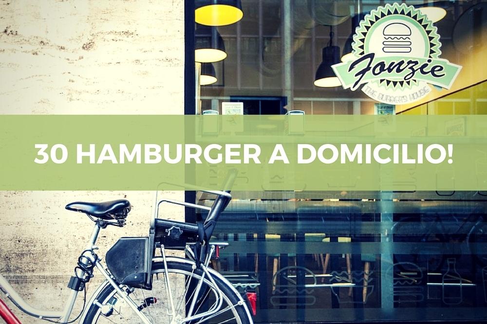 Hamburger a domicilio Roma: Fonzie a tutte le ore!