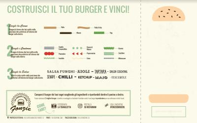 Fonzie Contest: Crea il tuo burger, Condividi e Vinci!